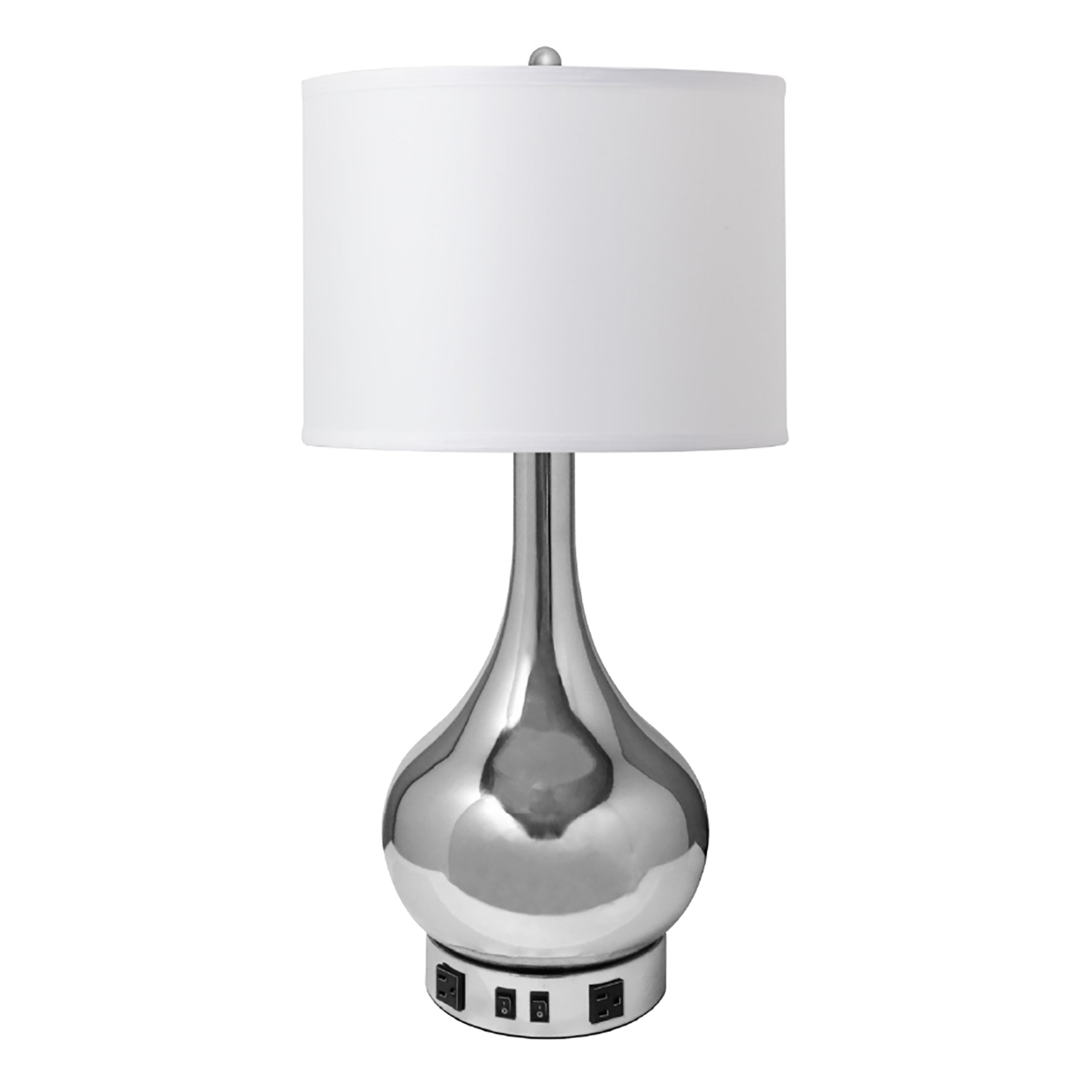 Truly Yours Desk Lamp with Polished Chrome Finish