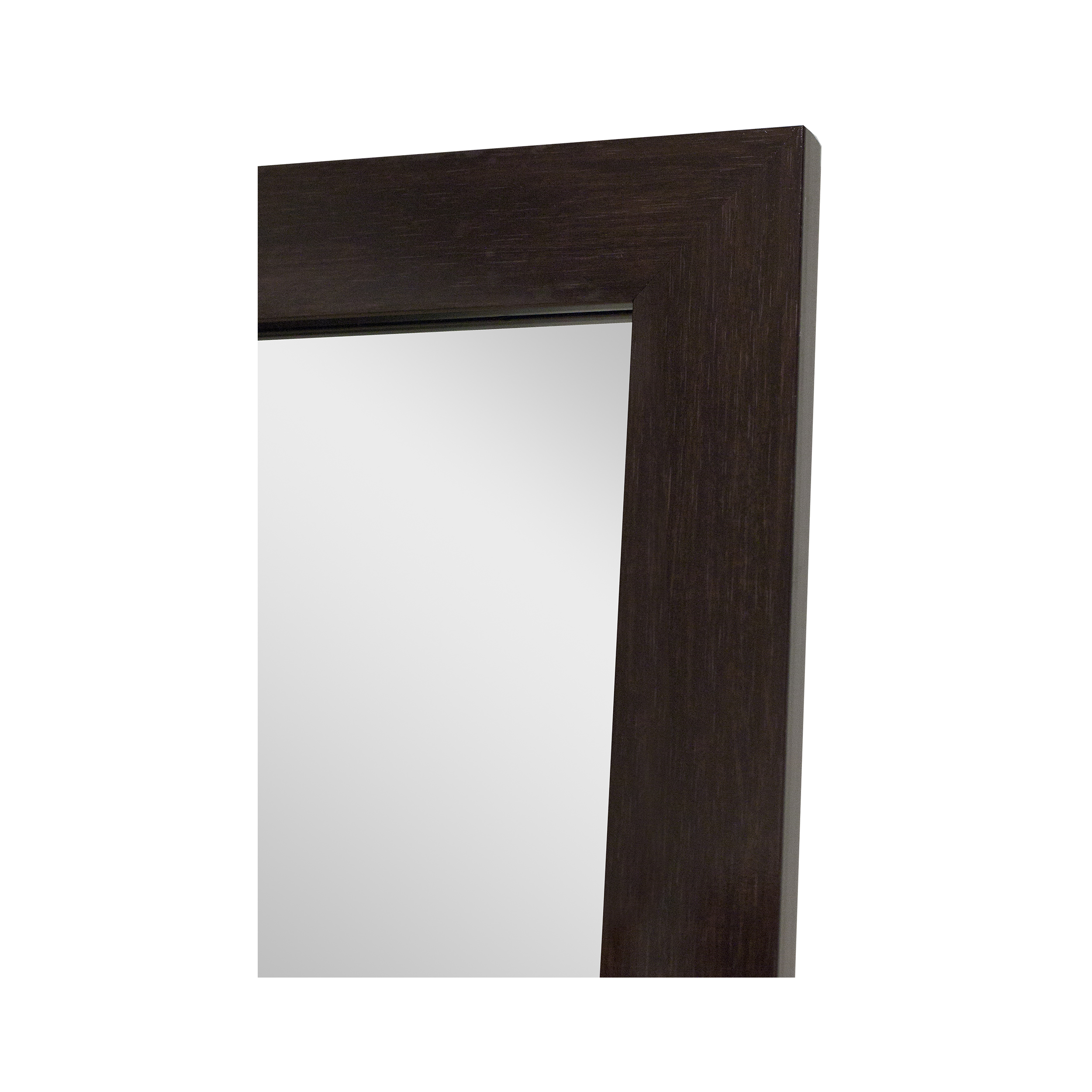 "Ipe Brown Non-Beveled Vanity (28"" x 42"")"