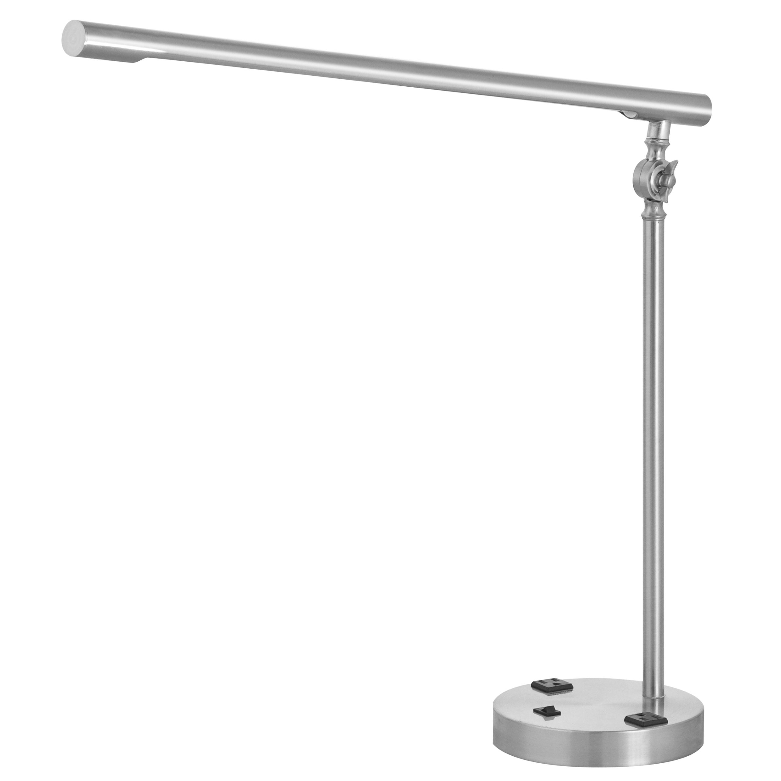 Prestige Desk Lamp with 2 Outlets