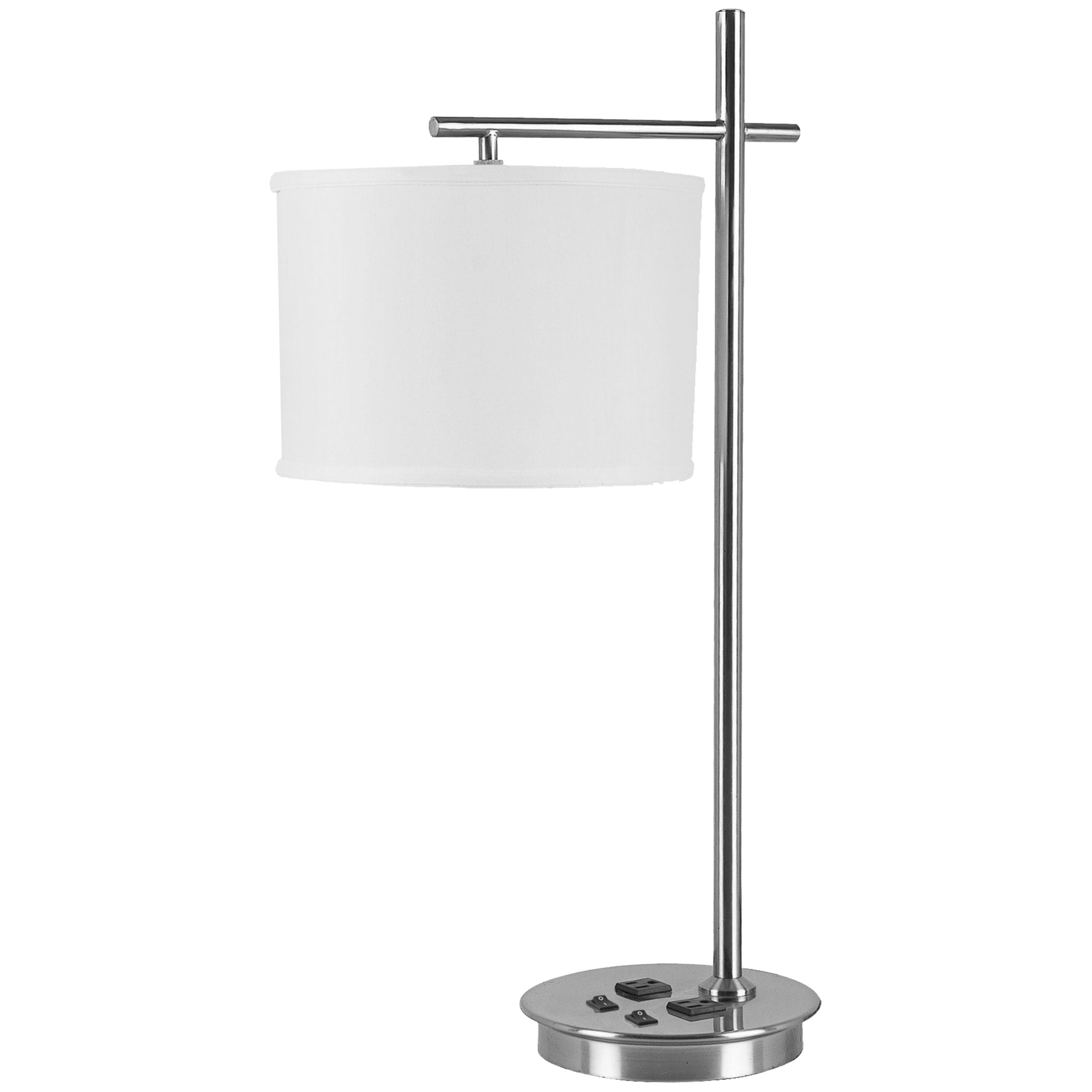 Corbel Desk Lamp with 2 Outlets