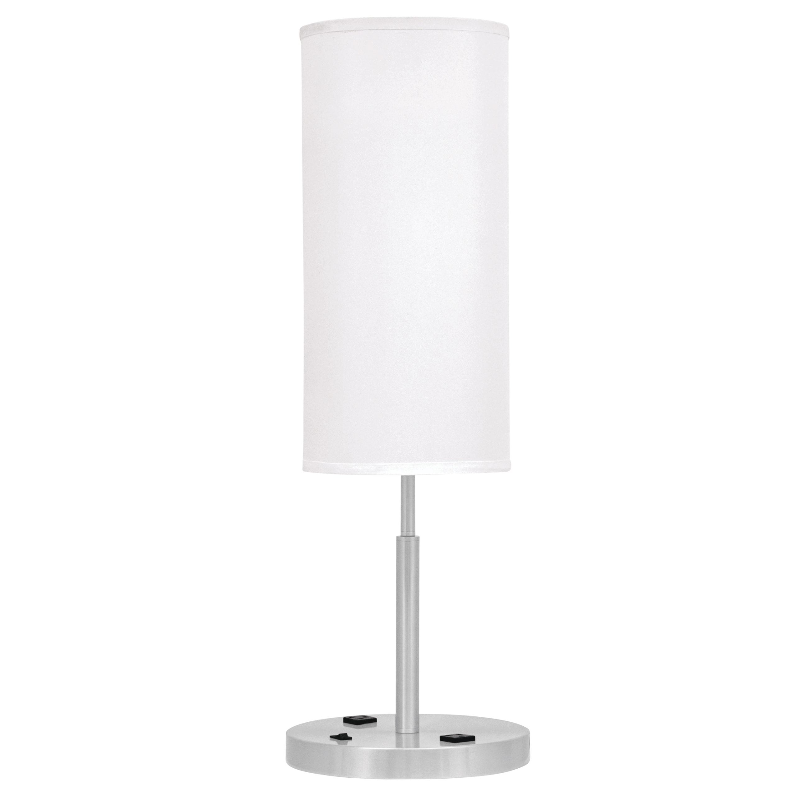 Mainstay End Table Lamp with Rocker Switch