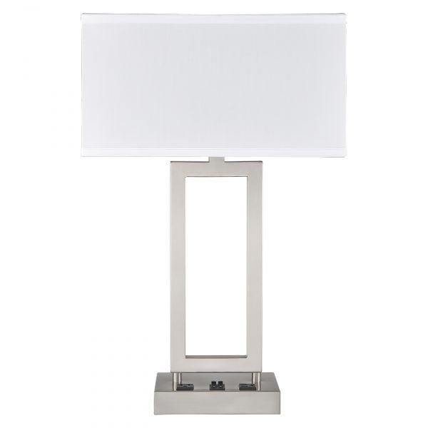 Gatsby Desk Lamp with 2 Outlets