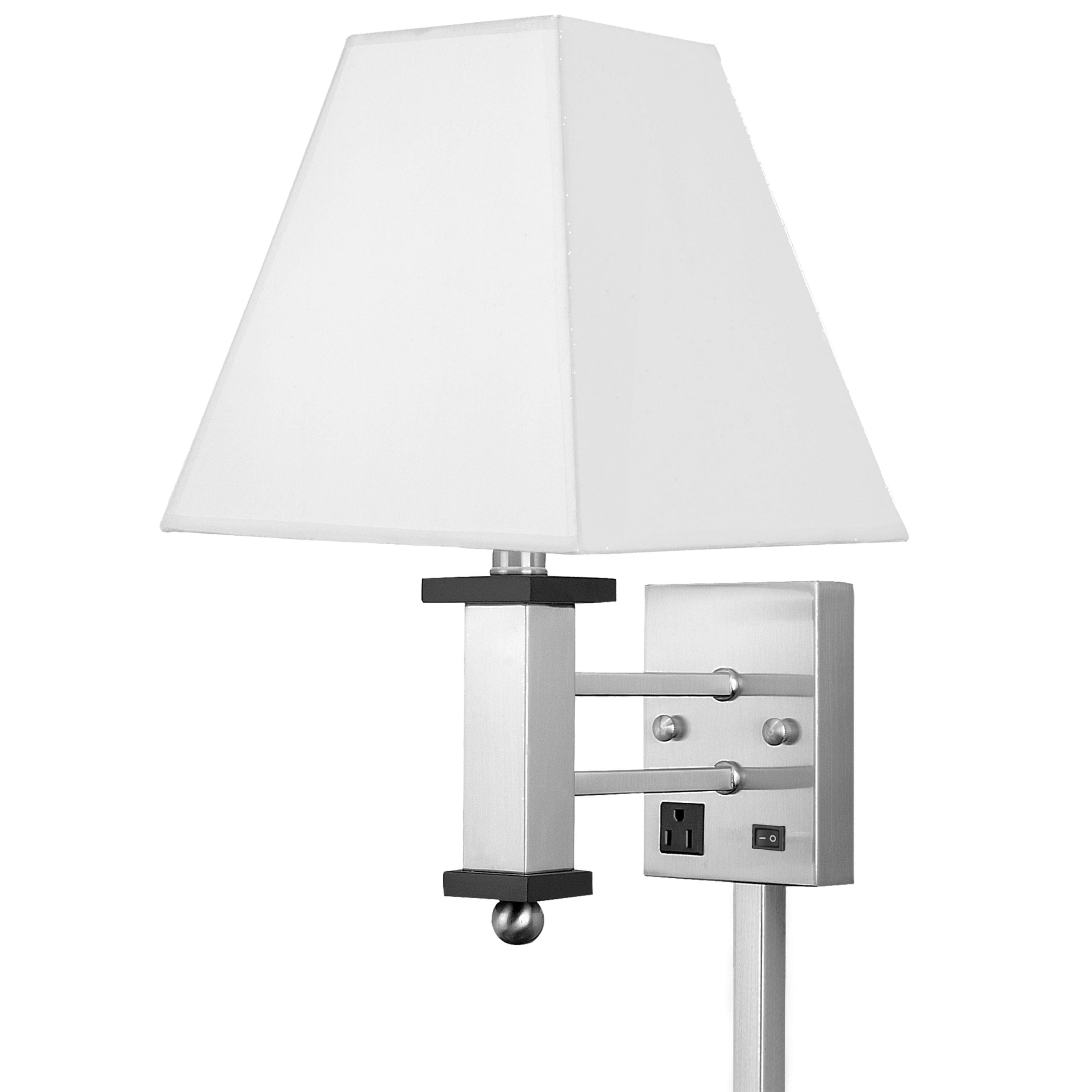 Andaaz Single Wall Lamp with 1 Outlet