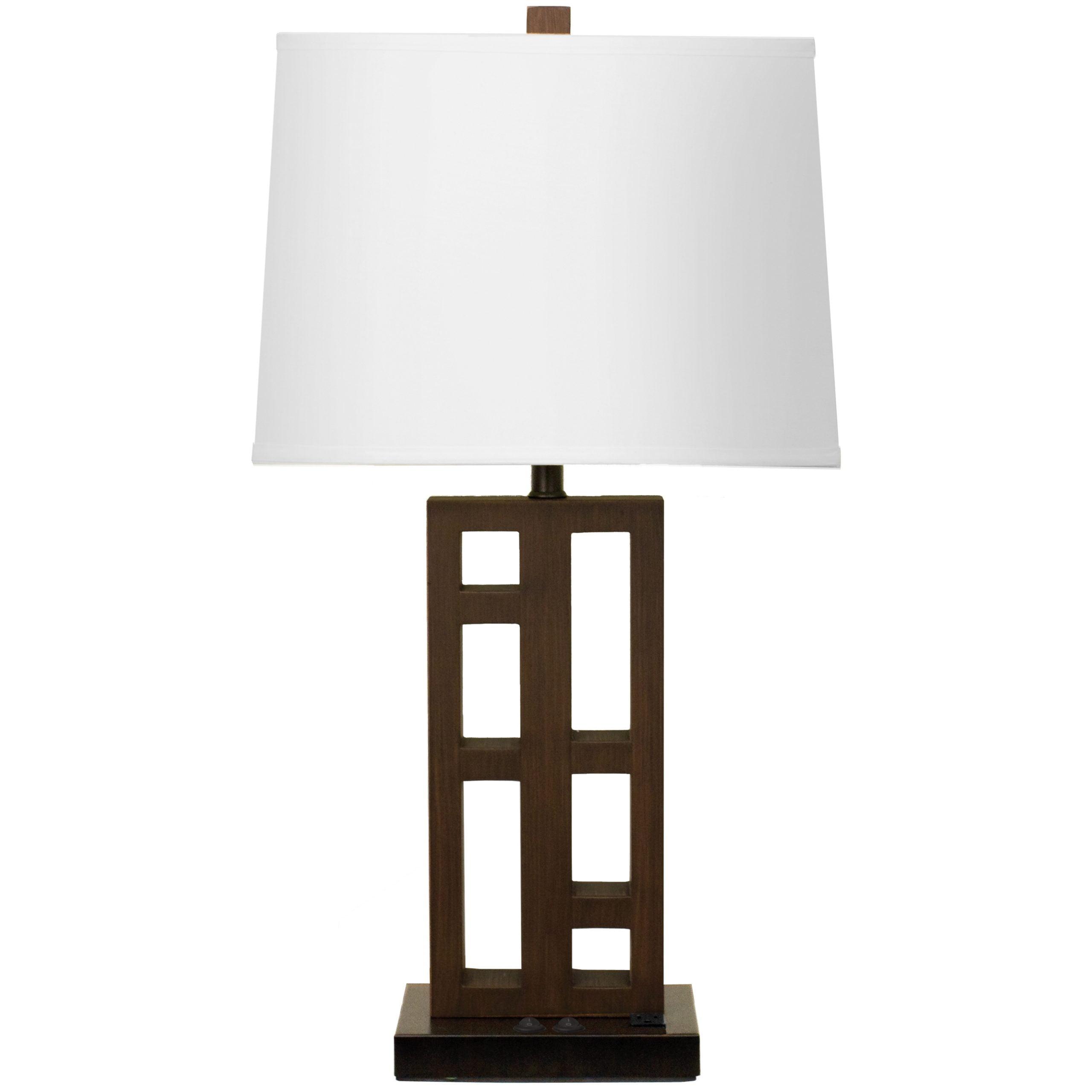 Urban Twin Table Lamp