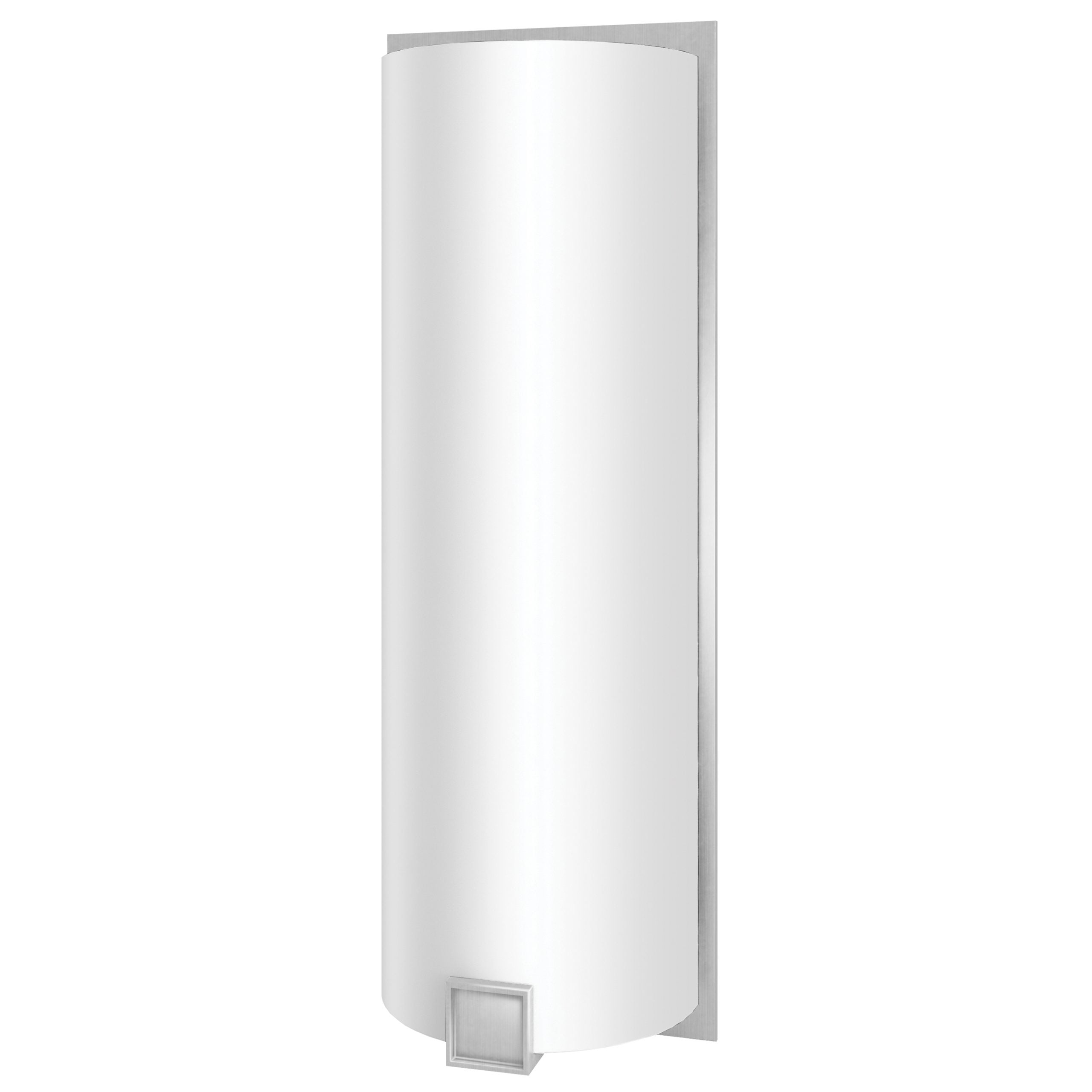 Truly Yours Satin Nickel 19in Wall Sconce