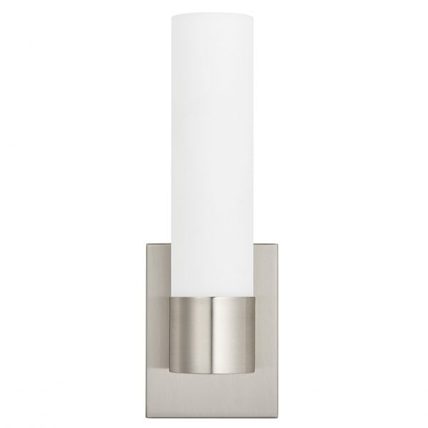 LED Brushed Nickel Wall Sconce