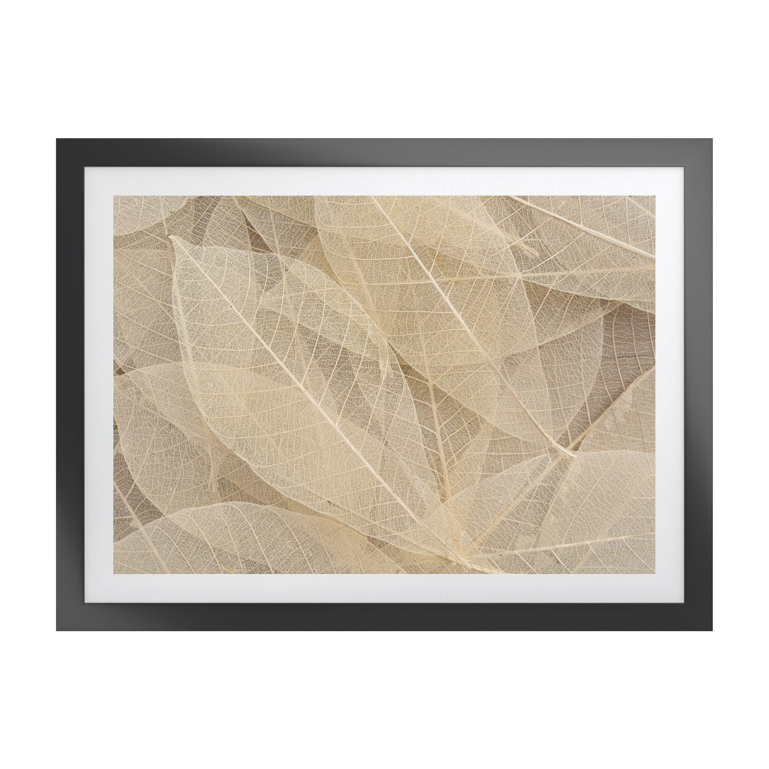 Woodspring Artwork with Fornari Black Frame