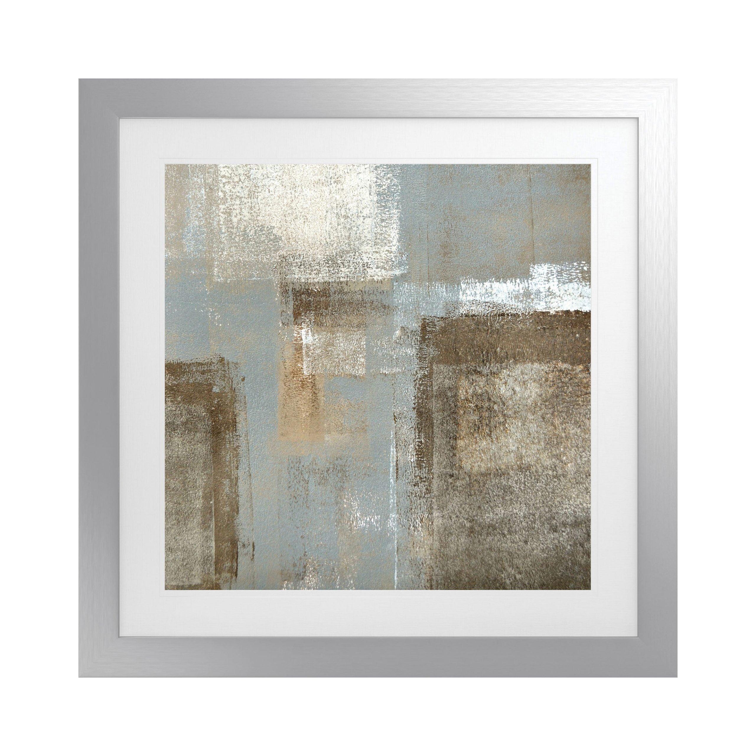 Haze Artwork with Fornari Silver Frame