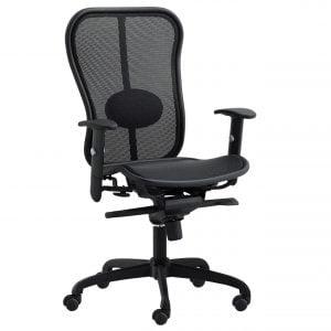 Positano Task Chair - Black