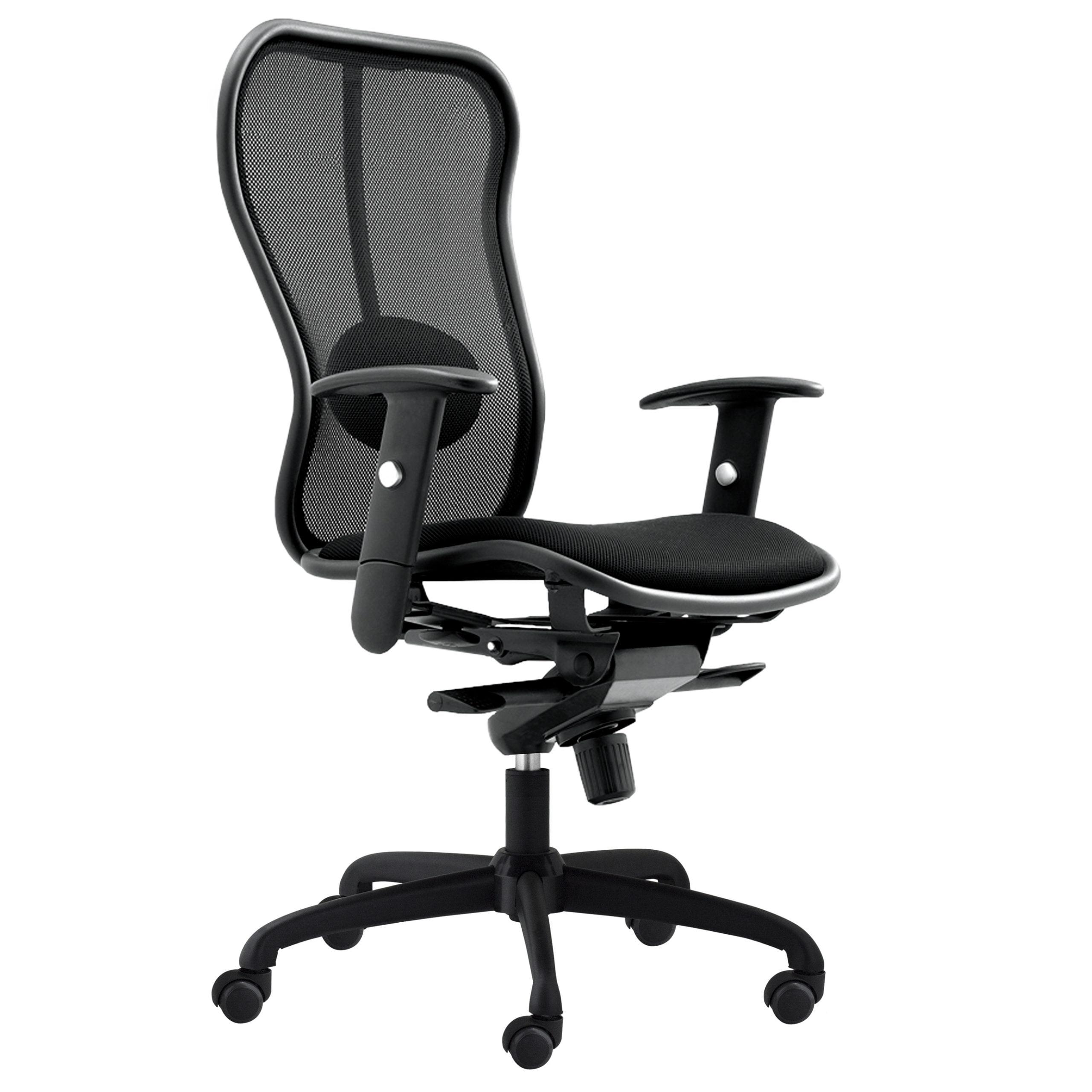 Positano II Task Chair - Black