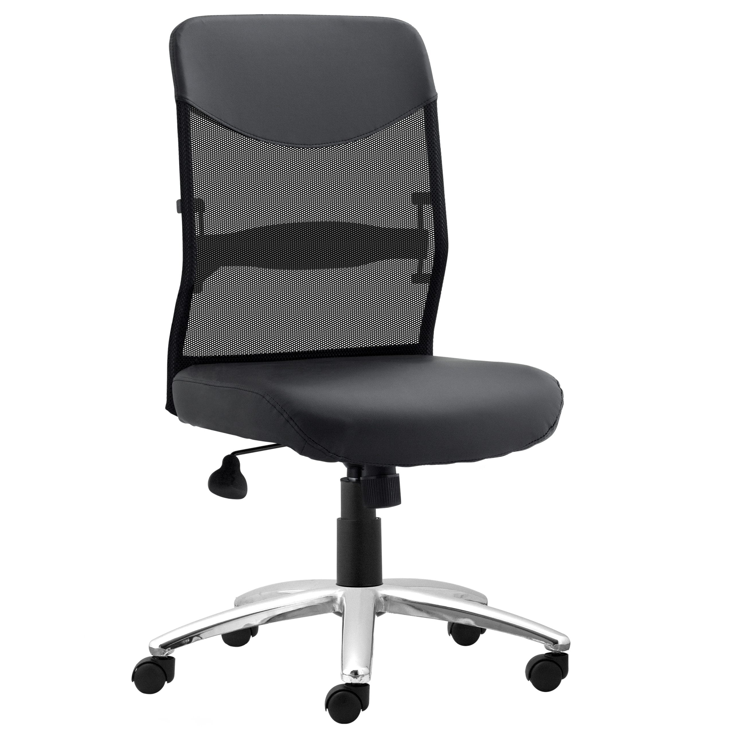 Capri II Armless Task Chair - Black