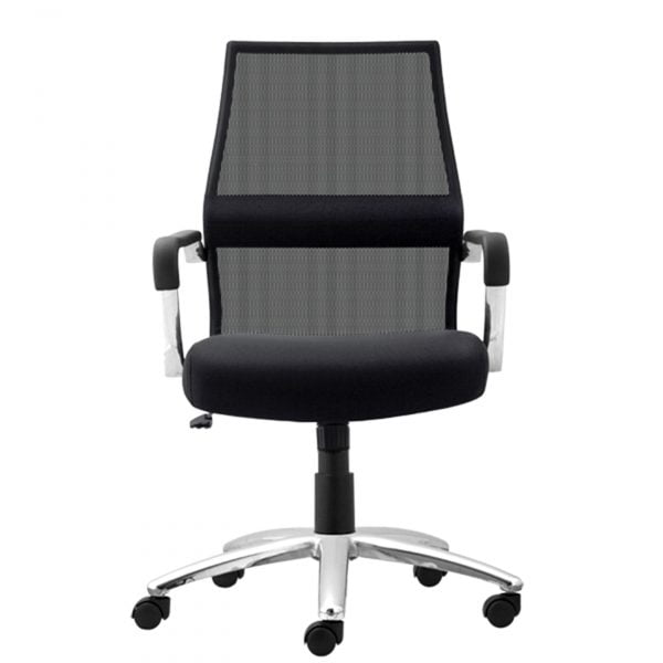 Trevi Task Chair with Mesh Seat - Black