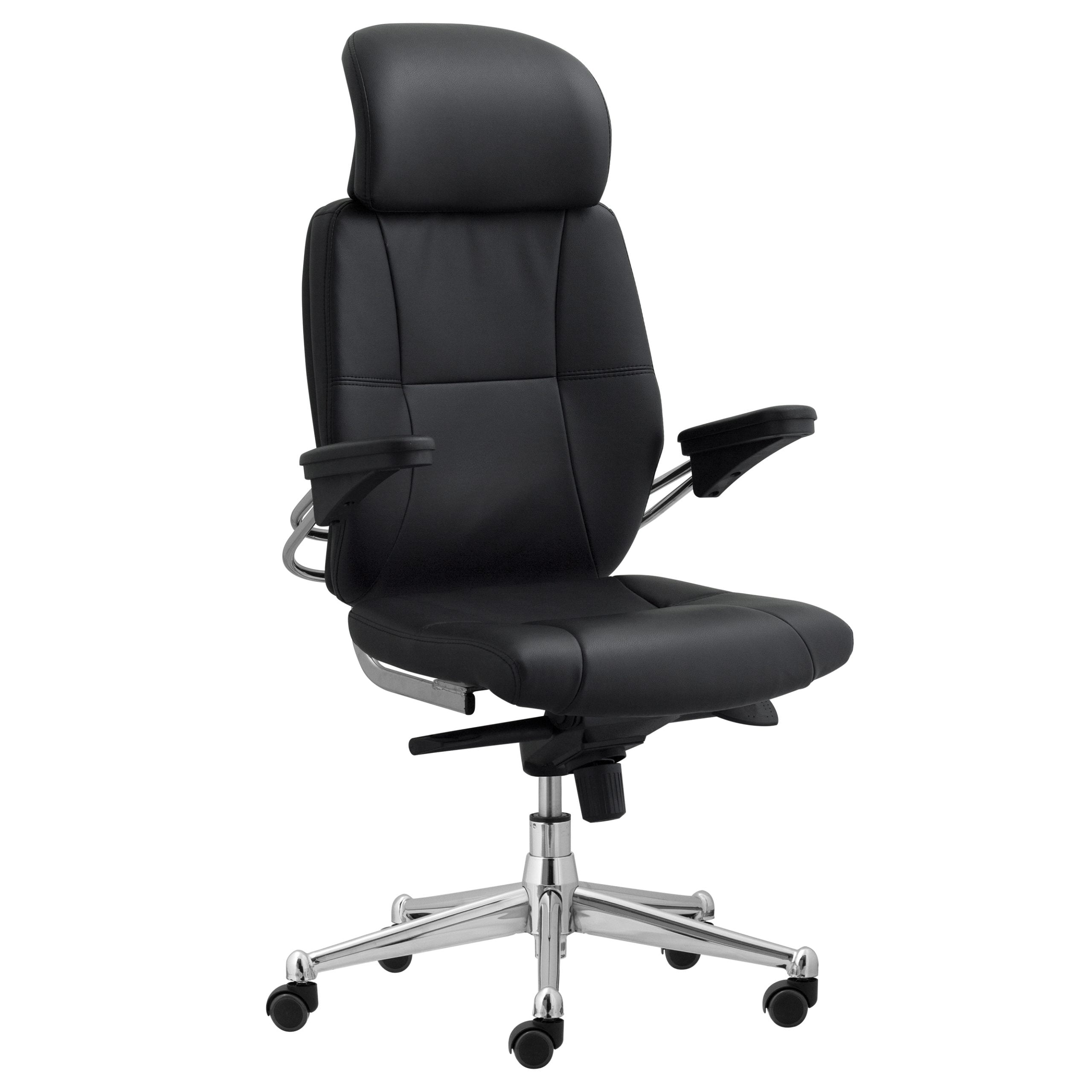 Trent Task Chair with Headrest - Black
