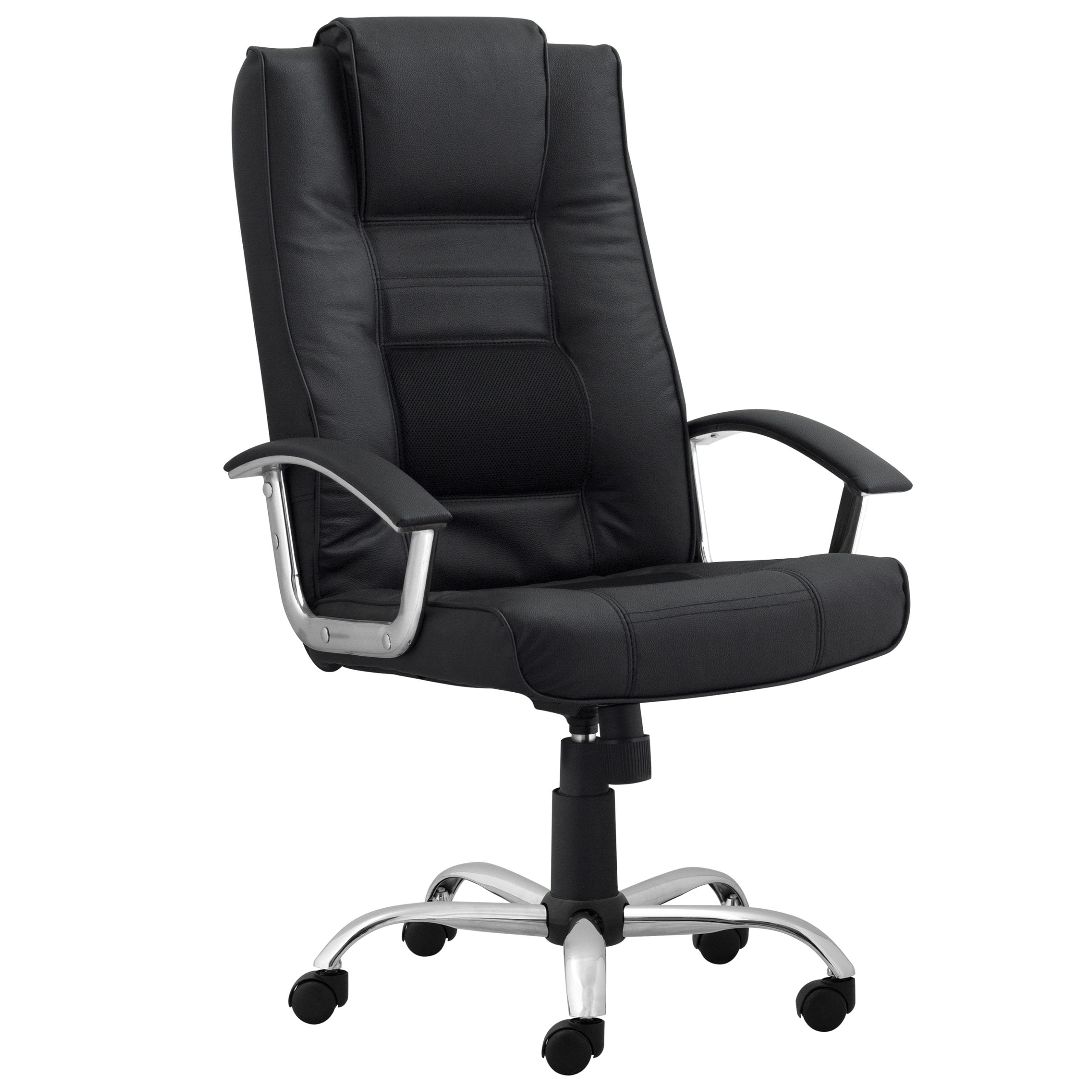 Milan High Back Task Chair with Arms